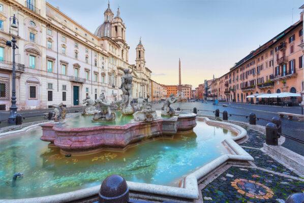 Italien Rom Navona Viertel