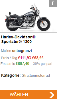 Harley Davidson in Kalifornien