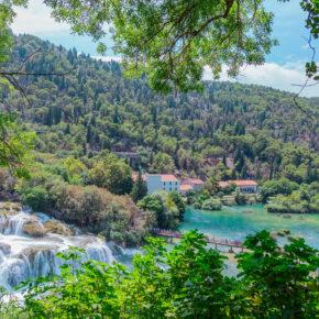 Wochenendtrip Kroatien: 3 Tage Krka mit TOP Apartment & Flug nur 64€