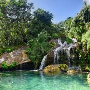 Lastminute Sommerurlaub: 7 Tage Kuba im TOP 3* Strandhotel mit All Inclusive, Flug, Transfer & Zug nur 618€