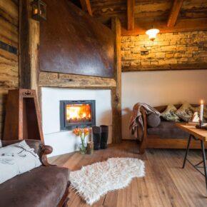 Ledro Mountain Charlets Wohnzimmer