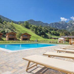 Ledro Mountain Charlets Pool