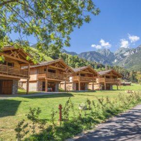 Ledro Mountain Charlets Häuser
