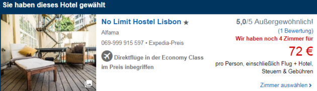 3 Tage Lissabon
