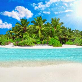 Malediven Tropische Insel