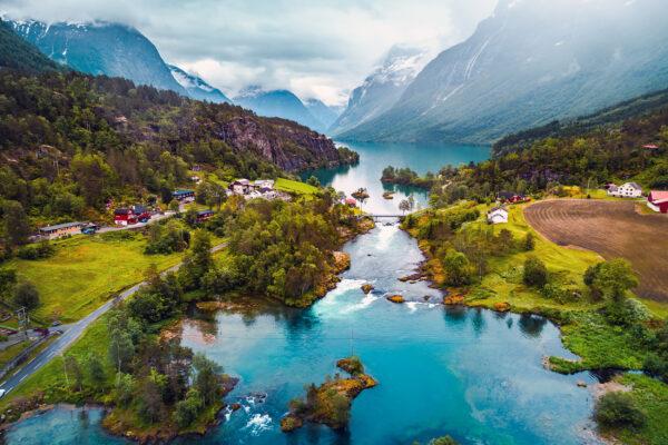 Norwegen Natur Landschaft