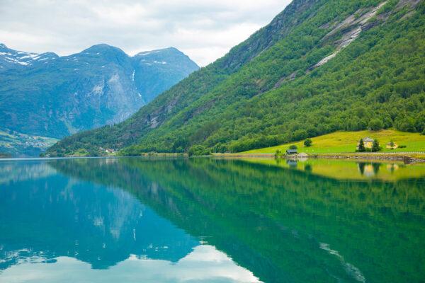 Norwegen Natur Landschaft See