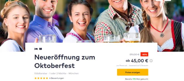 Oktoberfest in München