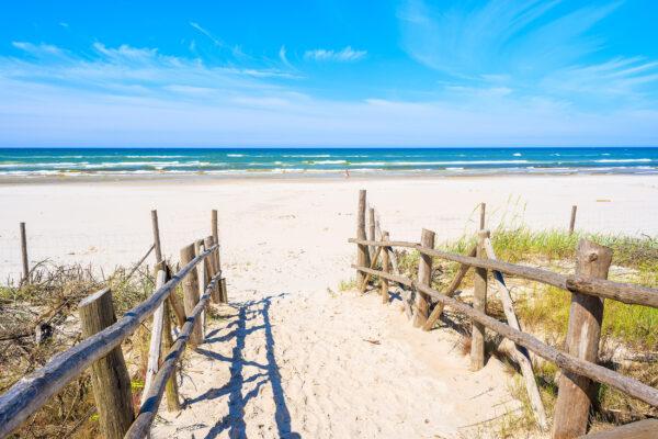 Polen Debki Strand