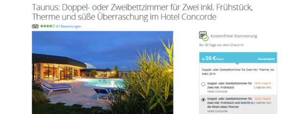 Rhein Main Therme Angebot