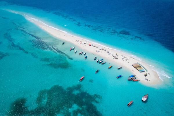 Sansibar Strand Insel