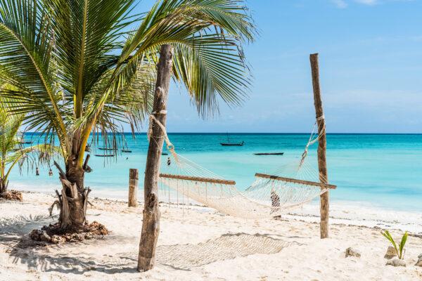 Sansibar Strand Hängematte