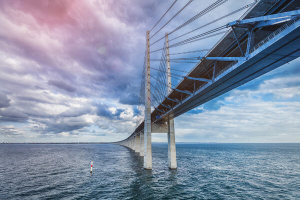 Schweden Malmö Oresundsbron