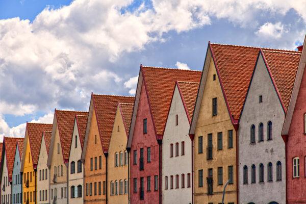 Schweden Malmö Scania Häuser