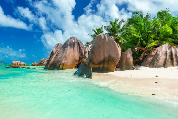 Seychellen La Digue Anse Source Argent