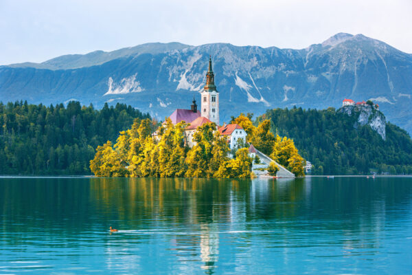 Slowenien Bled See