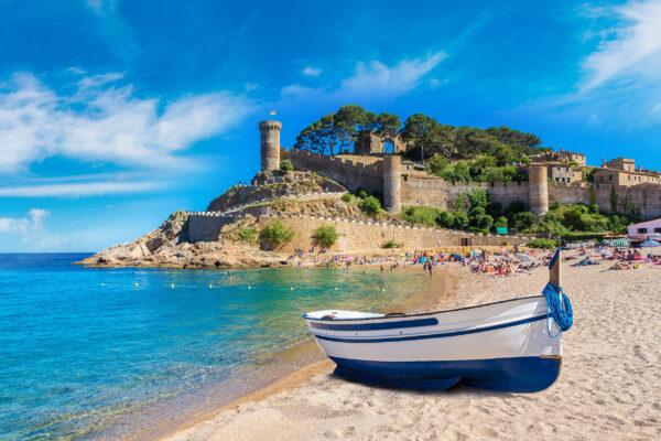 Spanien Costa Brava Tossa de Mar