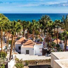 Fuerteventura All Inclusive: 7 Tage im strandnahen 4* Hotel mit Flug, Transfer & Zug nur 338€