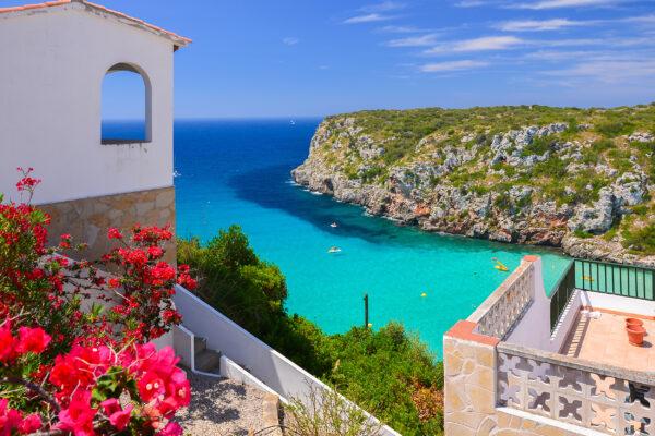 Spanien Menorca Cala Porter