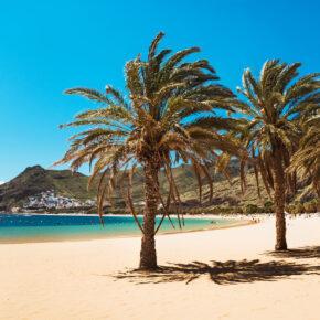 Last Minute nach Teneriffa: 7 Tage mit TOP 4* Hotel, Halbpension, Flug, Transfer & Zug nur 466€
