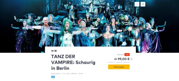 Tanz der Vampire Deal