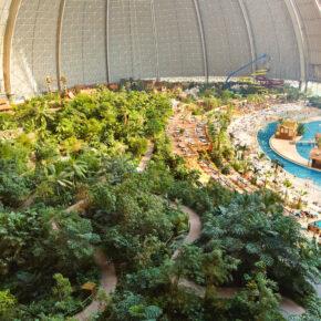 2 Tage Tropical Islands inkl. Eintritt ins Erlebnisbad, Frühstück & Übernachtung ab 49€