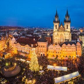 Weihnachtsmarkt in Prag: 2 Tage im zentralen TOP 4* Hotel mit Frühstück für 22€