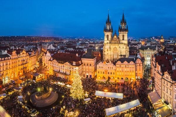 Tschechien Prag Weihnachtsmarkt