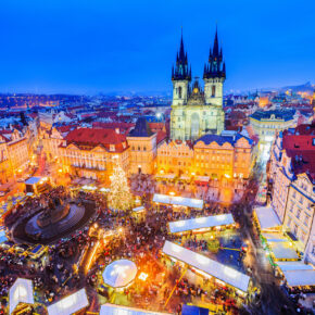 Weihnachtsmarkt-Zeit! 2 Tage Prag im zentralen TOP 4.5* Hotel mit Frühstück nur 29€