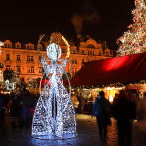 Auf dem Prager Weihnachtsmarkt: 2 Tage im TOP 4* Hotel mit Frühstück für 19€