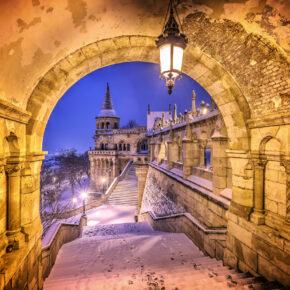 Wochenende in Budapest: 3 Tage Städtetrip im Winter mit Unterkunft inkl. Frühstück & Flug für 47€