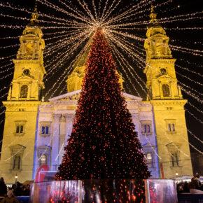 Weihnachtszeit in Budapest: 3 Tage übers Wochenende mit TOP 4* Hotel & Flug nur 62€