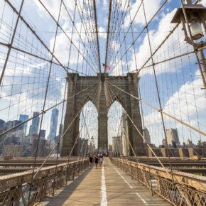 8 Tage New York City: Hin- und Rückflüge inklusive Gepäck für 243€