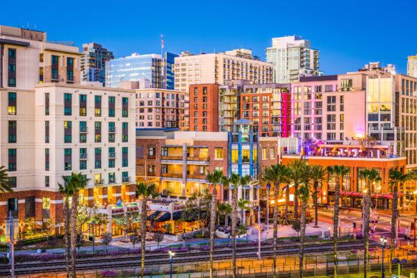 USA San Diego Gaslamp Quarter