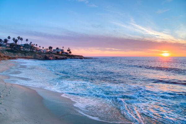USA San Diego La Jolla Strand