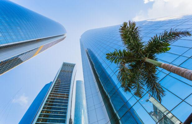 VAE Abu Dhabi Hochhäuser