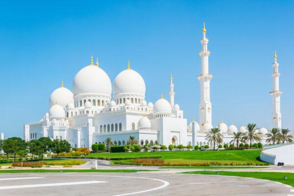 VAE Abu Dhabi Sheikh Moschee