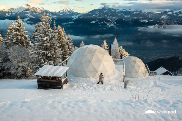 Whitepod Schnee