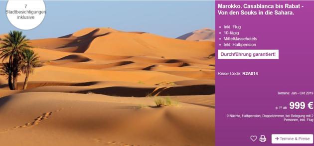 10 Tage Marokko