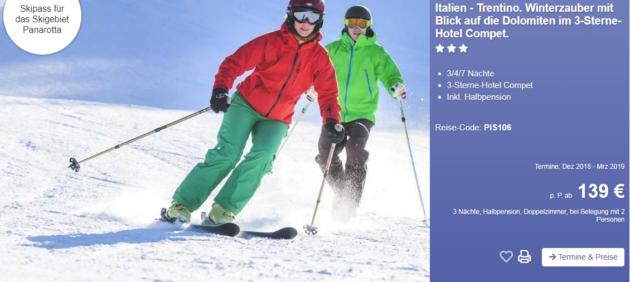 4 Tage Ski
