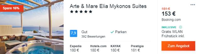 5 Tage Mykonos