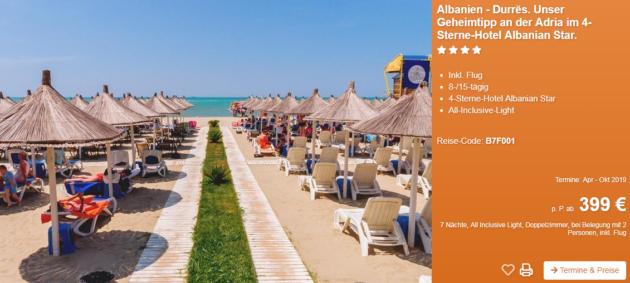 8 Tage Albanien