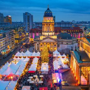 Weihnachtsmarkt in Berlin: 3 Tage in der Hauptstadt mit TOP 4* Hotel, Frühstück & Sauna für 89€