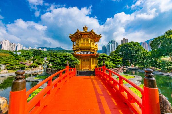 China Hongkong Pagoda