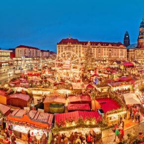 Weihnachtsmarkt in Dresden: 2 Tage im 3.5* Hotel mit Frühstück & Extras ab 24€