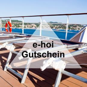 e-hoi Gutschein: Spart [v_value] auf Eure nächste Kreuzfahrt-Buchung