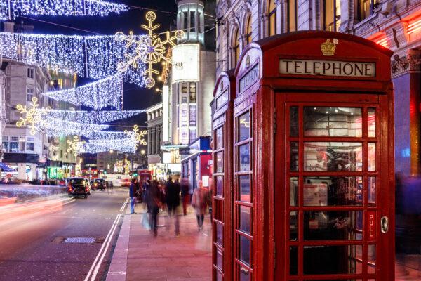 England London Soho Christmas