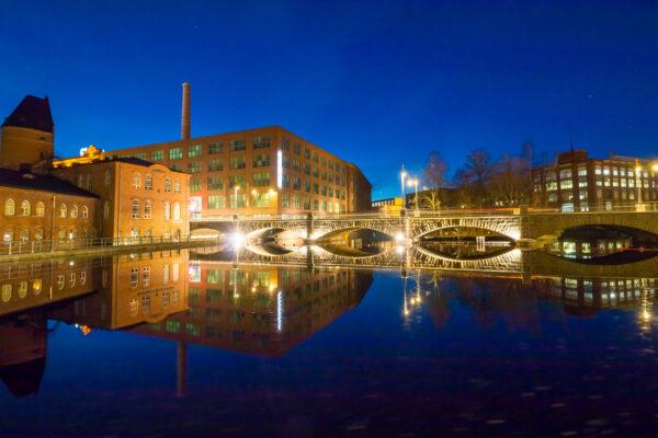 Finnland Tampere Brücke