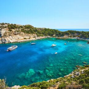 Frühbucher Griechenland: 7 Tage Rhodos im 5* Hotel mit All Inclusive, Flug, Transfer & Zug nur 440€