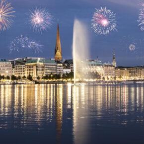 Silvester in Hamburg: 2 Tage im guten 3* Hotel im Zentrum für 33€
